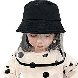Kids Bucket Protective Hat Safety Face Shield Hat...