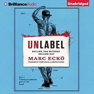 Unlabel audiobook cover art