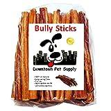 Downtown Pet Supply 6' Bully Sticks - Freien Bereich Standard Regelmäßige Dick Wählen Sie 6 Zoll (10 Pack)