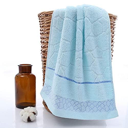 Juego de Toallas geométricas Cómodo baño de algodón Grueso Ducha de algodón Baño Toallas de Cara para el hogar Toallas para Adultos Handtuch, Color 1,1pcs 70