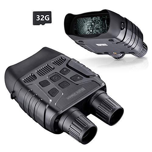 BNISE Digital Night Vision Binoculars for Adults Day and...