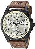 Timberland Boxbouough Reloj multifunción para hombre, Brown/Black/Cream