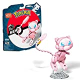 Mega Construx GKY97 - Pokémon Medium Pokémon Mew mit 194 Bausteinen, Spielzeug ab 7 Jahren