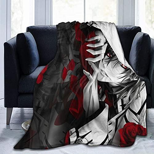 Manta de caballero vampire super suave para todas las estaciones del aire acondicionado manta manta decorativa cartel manta 120 x 100 pulgadas