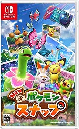 New ポケモンスナップ -Switch (【早期購入特典】スペシャルタグ ラプラス『New ポケモンスナップ』ver. 同梱)