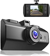 JimmyLIN Car Dash Cam 1080P DVR Dashboard Camera Full HD LCD Screen Dashcam for Car Video Recorder with Mount 170°Wide Angle, WDR, G-Sensor, Loop Recording and Motion Detection Webcams