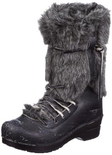 Sanita Original-Wixen Boot 456701-2, Damen Fashion Stiefel, Schwarz (Black 2), EU 38