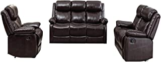 Best bob classic bonded leather recliner sofa Reviews