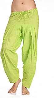 In-Sattva Women's Rich Colored Harem and Lounge Pants