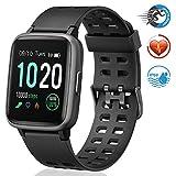 FITFORT Smartwatch,Fitness Watch Uhr Voller Touch Screen Fitness Uhr IP68 Wasserdicht Fitness...