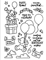 Party Transparent Clear Silicone Stamp Seal DIY Scrapbooking photo Album A0452