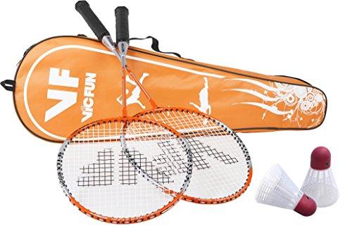 VICFUN Hobby Badminton Set Start, Orange, One size, 796/1/6