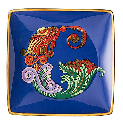 Versace by Rosenthal - Schale, Teller, Schälchen - Holiday Alphabet - G - 12 x 12 cm - Porzellan