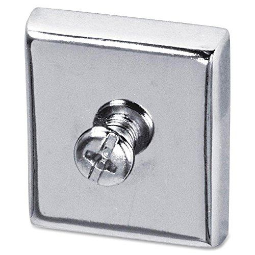 Lorell llr80675?Cubicle磁石、Large、2-cd、アルミニウム