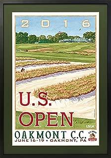 Oakmont | 2016 U.S. Open Poster Framed Small