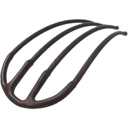 iprlm020mbmbw Eスティックプラス -Pro- マットブラウン 時短 簡単 まとめ髪 盛り髪 夜会巻き ヘアアクセサリー 専門店 [リトルムーン]