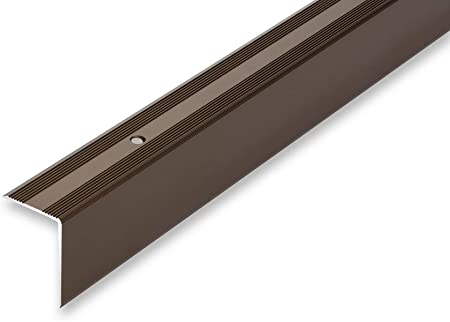 , silber Kantenprofilwinkel ungebohrt gebohrt 11,22/€//m Treppenwinkel 30 x 42 x 1180 mm 6 Farben selbstklebend 30 x 42 x 1180 mm gebohrt inkl. Montageset