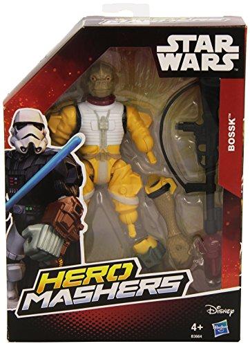 Hasbro Star Wars B3664ES0 - Hero Mashers Basisfigur: Bossk, Actionfigur
