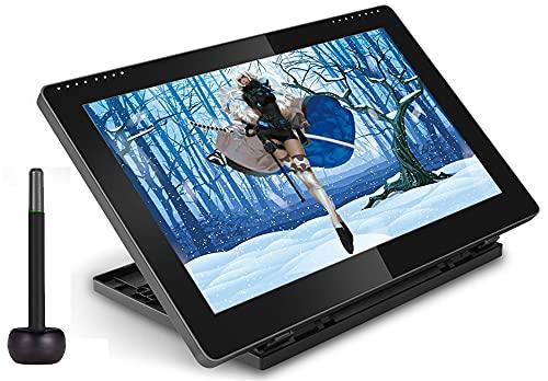 Xyfw Monitor De Pantalla De Lápiz De Dibujo De Gráficos IPS De 15,6 Pulgadas 8192 Tableta De Dibujo De Nivel De Presión 1920 * 1080 FHD con Soporte Ajustable