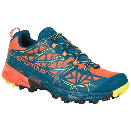 LA SPORTIVA Akyra GTX, Chaussures de Trail Homme, Multicolore, Lave, océan 000, 43.5 EU