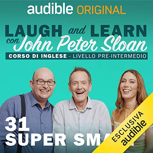 Super smart audiobook cover art