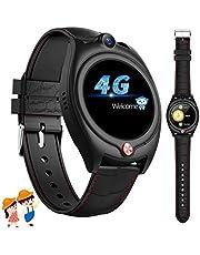 4G Orologio Intelligente Bambini, GPS Tracker Smartwatch Bambini Bambina con GPS Wifi SOS Videochiamata Pedometer Orologio Telefoni Regali di compleanno 6-14 anni