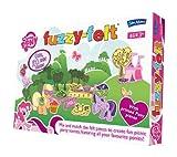 Fuzzy-Felt My Little Pony - Juego para Crear Figuras de Fieltro, diseño de ponys