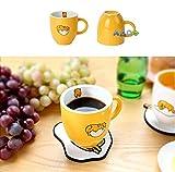 Sanrio Gudetama Ceramic Coffee / Tea Mug Cup (3 Designs) (Yellow)