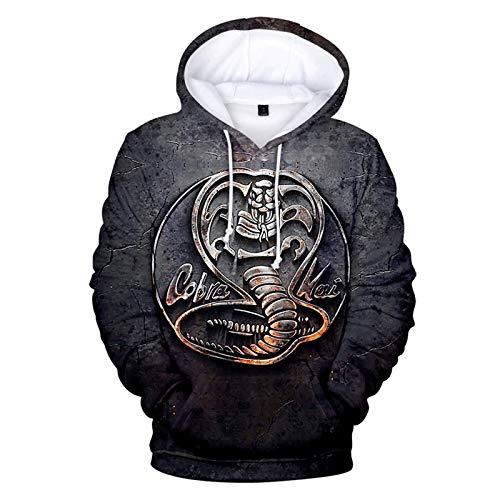 2 Bis 14 Jahre Kinder Hoodies Die Karate Kid Cobra Kai 3D-Print Hoodie Sweatshirt Jungen Mädchen Mode Harajuku Jacke Kinderkleidung