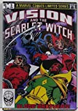 Vision and The Scarlet Witch #3 Comic Book Cover Refrigerator Magnet. -  Player One Collectables