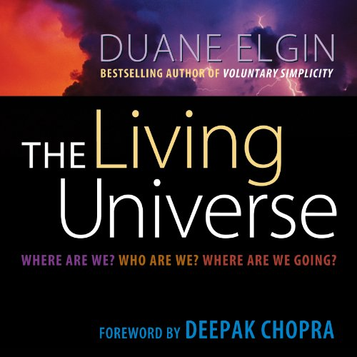 The Living Universe audiobook cover art