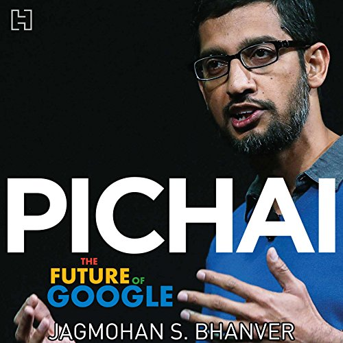 Pichai audiobook cover art