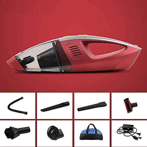 FJW Aspirateur de voiture Handheld Budget DC12 V voiture utilisation 100 W haute énergie sec et humide Aspirateur de voiture universel, Redb