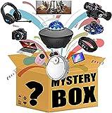 WEWQ Caja de Misterio Mystery Box Electronics Mystery Boxes Cumpleaños Aleatorio Caja de Sorpresa Caja de Lucky para Adultos Sorpresa Regalo, como Drones Smart Watches Gamepads y más