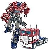 La clase de primos KO Figura de acción Transformers Juguetes, Siege War for Cyberton Trilogía Generations War Optimus Prime Action Figura - Edad 8+ Se pueden montar libremente juguetes ( Size : A )
