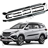 Aluminium Running Boards Side Steps Nerf Bars Fit for Toyota Rush 2018 2019 2020 2pcs Side Pedals car Stairs Chairs Side Beam
