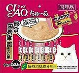 チャオ ちゅ〜る 総合栄養食 まぐろ 海鮮ミックス味 14gx20本