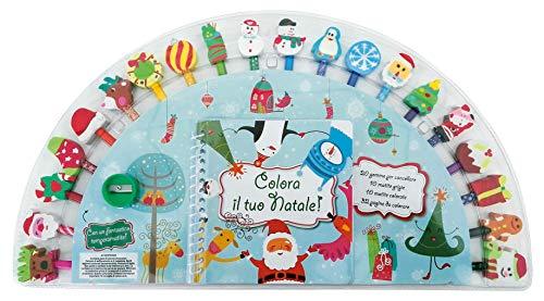 Colora il tuo Natale! Ediz. a colori. Ediz. a spirale. Con gadget