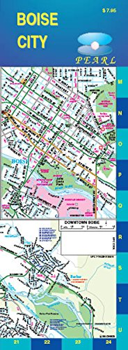 Boise City Pearl Street Map (Laminated)