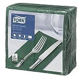 SCA Tork 477572 - Servilletas plegables (1/8, 1800 unidades), color verde oscuro