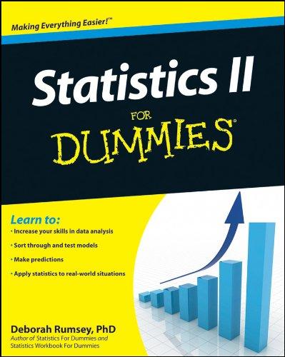 Statistics II for Dummies (English Edition)