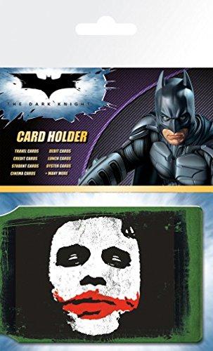 1art1 Batman - The Dark Knight, Joker Tarjeteros para Tarjetas De Crédito (10 x 7cm)