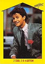 Kirk Cameron trading card Growing Pains Mike Seaver 1988 Topps #55