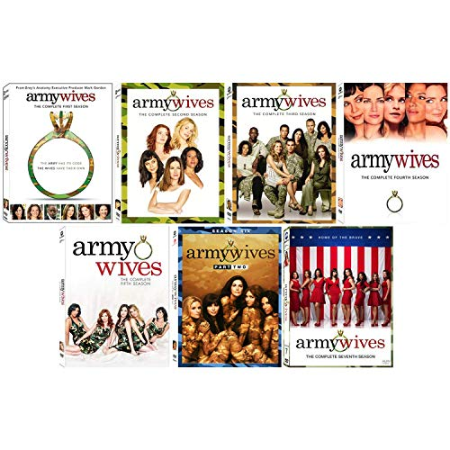 Army Wives: TV Series Complete Seasons 1-5 + 6 Pt. 2 + 7