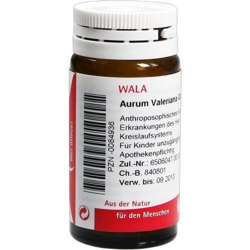 WALA Valeriana, 20 g Globuli velati