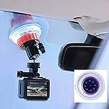 Soporte de ventosa para ventana del parabrisas del coche para GoPro Hero 5 6 7 Cámara de acción DJI OSMO con cabeza de bola de rotación de 360 grados