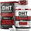 DHT Blocker Hair Growth Supplement - High Potency Biotin & Saw Palmetto for Hair Regrowth - Natural Hair Loss Treatments for Women & Men - Helps Stimulate Hair Follicle Growth