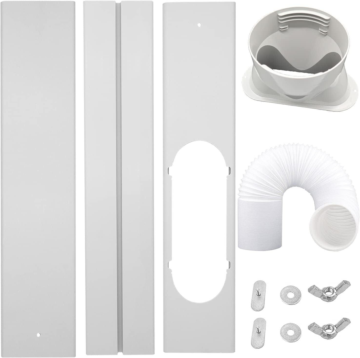 LEZIFU Portable AC Window Choice Kit of Recommended for Ex Air Conditioner