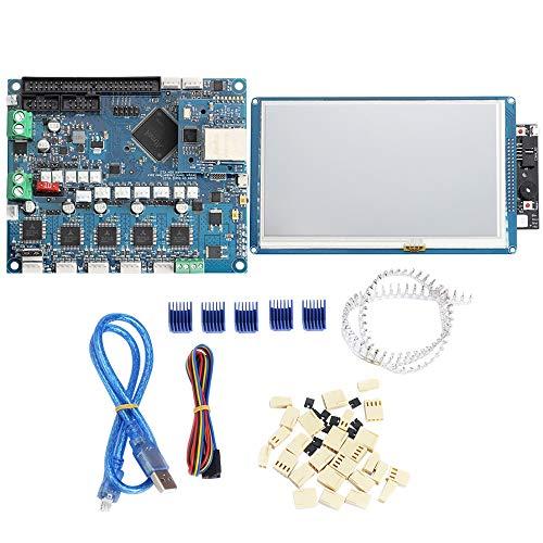 RETYLY 3D Kit de Impresora Duet Panel de Control Ethernet Pantalla de Contacto Todo Color de 5 Pulgadas