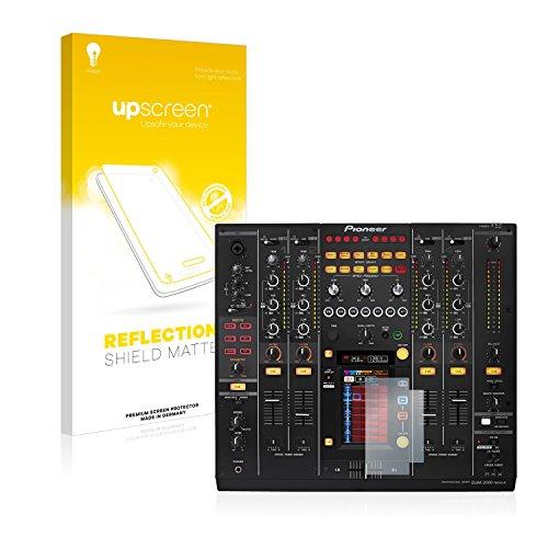upscreen Entspiegelungs-Schutzfolie kompatibel mit Pioneer DJM 2000 Nexus – Anti-Reflex Bildschirmschutz-Folie Matt